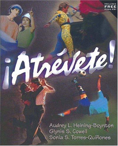 Atrevete! [With CD (Audio)]