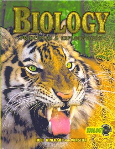 Biology: Principles & Explorations
