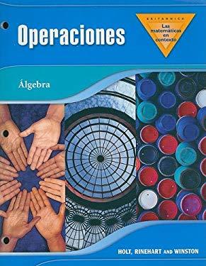 Britannica las Matematicas en Contexto Algebra: Operaciones 9780030930492