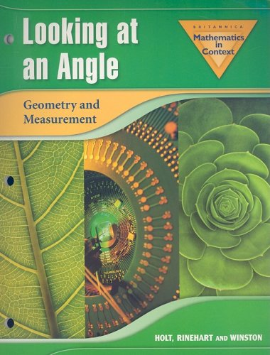 Brittanica Mathematics in Context Looking at an Angle: Geometry and Measurement