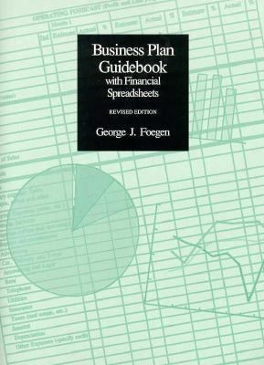 Business Plan Guidebook with Financial Spreadsheets