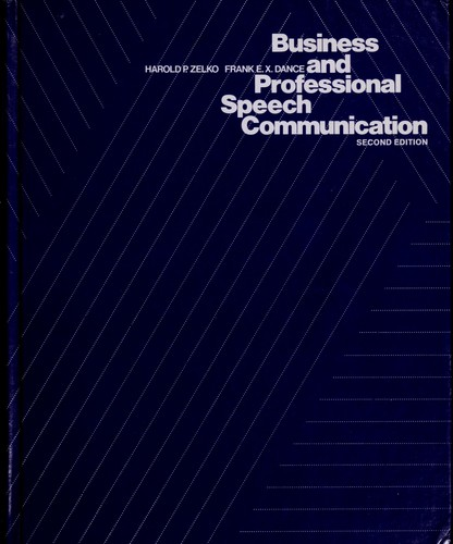 Business and Professional Speech Communication