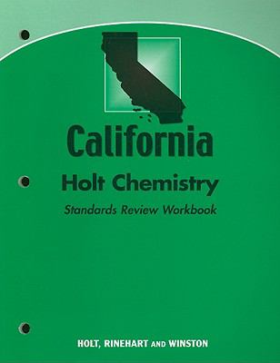 California Holt Chemistry Standards Review Workbook