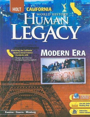 California Holt World History: Human Legacy: Modern Era