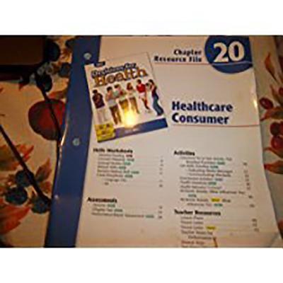 Ch 20 Healthcr Consumer Health 2004 Blue