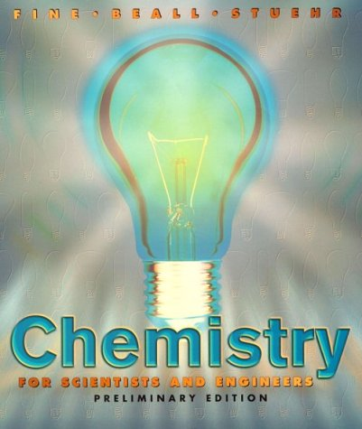 Chemistry for Scientists and Engineers
