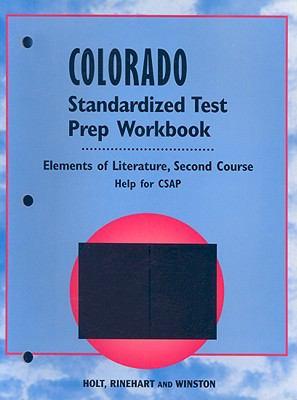 Colorado Standardized Test Prep Workbook: Second Course