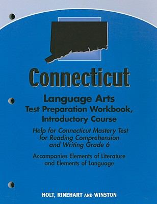 Connecticut Language Arts Test Preparation Workbook, Introductory Course: Help for Connecticut Mastery Test for Reading Comprehension and Writing Grad