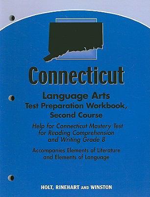 Connecticut Language Arts Test Preparation Workbook, Second Course