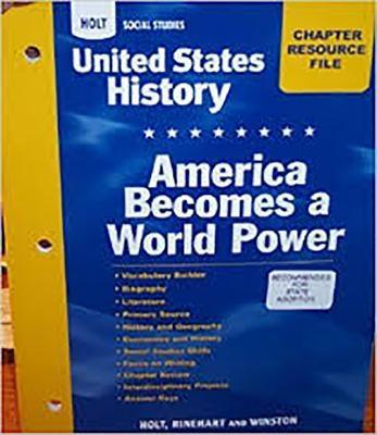 Crf: Am/Wld Pwr Hss: Us Hist 2007