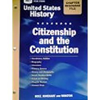 Crf Citz/Const Hss: Us Hist 2006