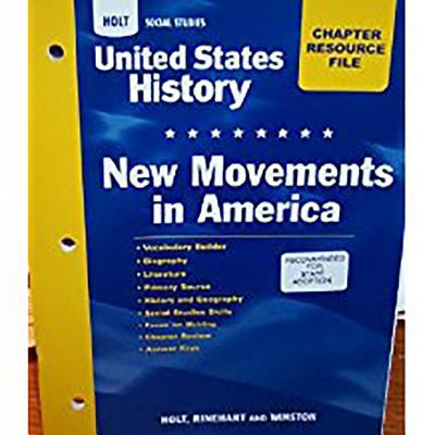 Crf New Mvmnts/Am Hss: Us Hist 2006