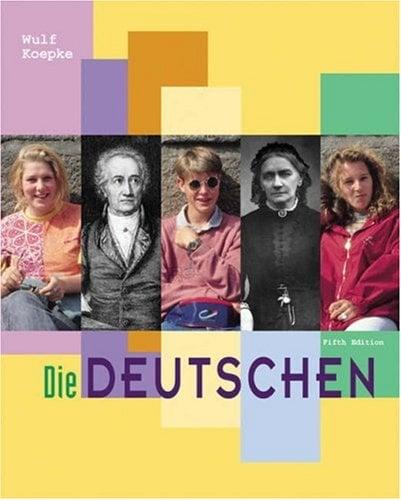 Die Deutschen 9780030210396