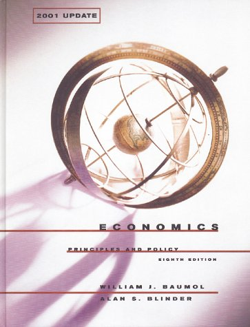 Economics: Principles and Policy: 2001 Update
