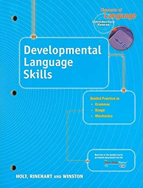 Elements of Language: Developmental Language Skills Guided Practice, Introductory Course