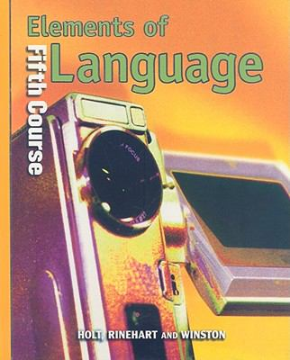 Elements of Language, Fifth Course