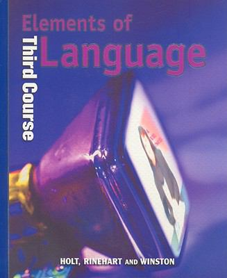 Elements of Language, Third Course