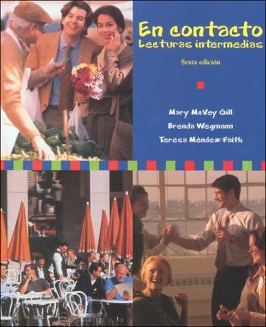 En Contacto: Lecturas Intermedias 9780030225147