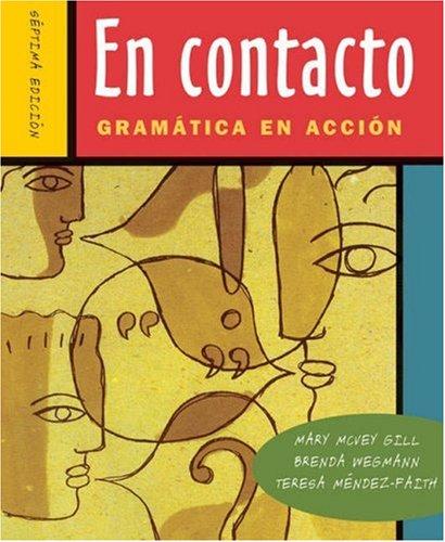 En Contacto: Gram Tica En Accion (with Audio CD) [With CD (Audio)]