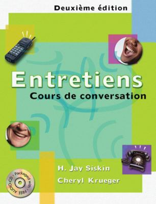 Entretiens: Cours de Conversation [With CD (Audio)]