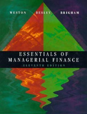 Essentials Managerial Finance