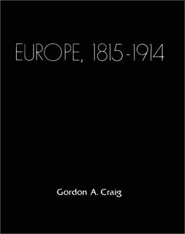 Europe 1815-1914