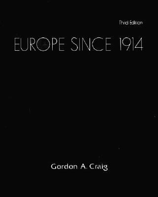 Europe Since 1914