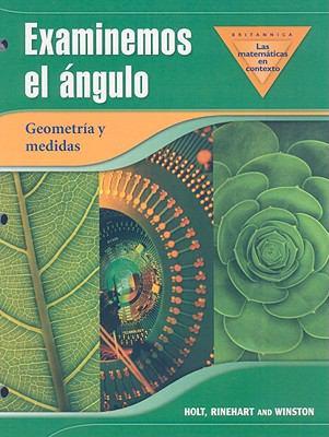 Examinemos el Angulo Geometria y Medidas