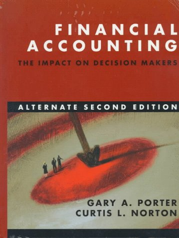 Financial Accounting: The Impact on Decision Makers [With Ben & Jerry's 1996 Annual Report]