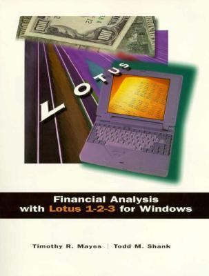 Financial Analysis with Lotus for Windows