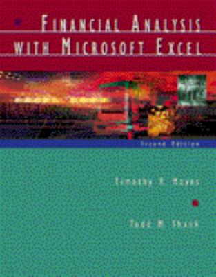 Financial Analysis with Microsoft Excel 9780030326219