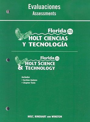 Florida Holt Ciencias y Tecnologia Evaluaciones/Florida Holt Science & Technology Assessments: Nivel Verde/Level Green