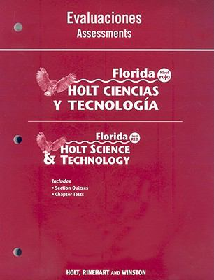 Florida Holt Ciencias y Tecnologia Evaluaciones/Florida Holt Science & Technology Assessments: Nivel Rojo/Level Red