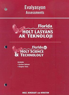 Florida Holt Lasyans AK Teknoloji Evalyasyon/Florida Holt Science & Technology Assessments: Level Red
