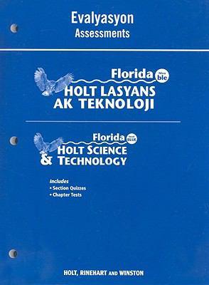 Florida Holt Lasyans AK Teknoloji Evalyasyon/Florida Holt Scienec & Technology Assessments: Nivo Ble/Level Blue