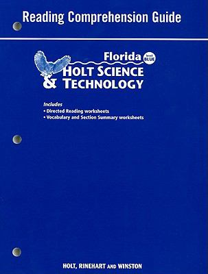Florida Holt Science & Technolgy Reading Comprehension Guide, Blue Level