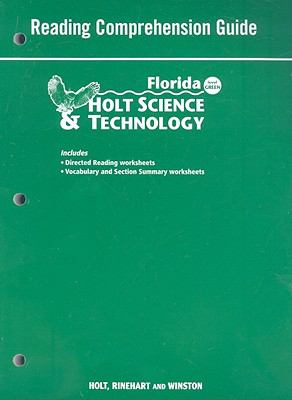 Florida Holt Science & Technology Reading Comprehension Guide: Level Green