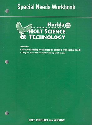 Florida Holt Science & Technology Special Needs Workbook: Level Green