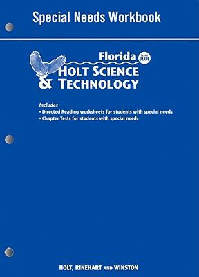 Florida Holt Science & Technology: Special Needs Workbook: Blue Level