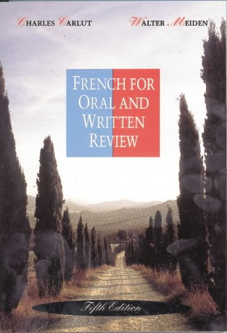 French for Oral and Written Review 9780030758997
