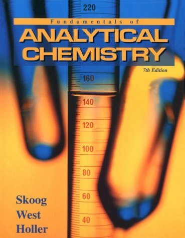 Fundamentals of Analytical Chemistry 9780030059384