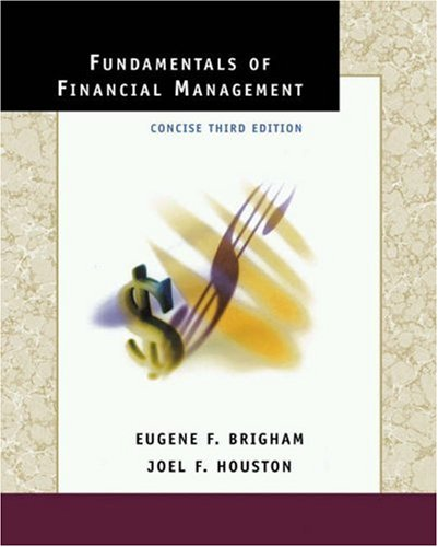 Fundamentals of Financial Management: Concise Edition (Book with Student CD-ROM)