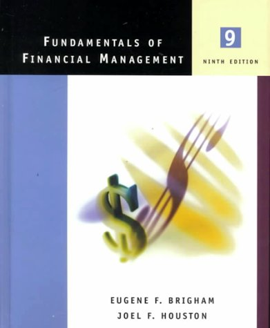 Fundamentals of Financial Management [With Student CD-ROM]