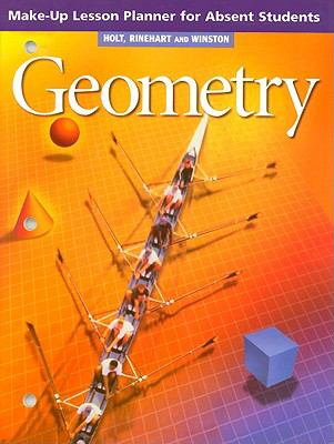 Geometry Make-Up Lesson Planner for Absent Students