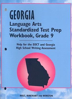 Georgia Language Arts Standardized Test Prep Workbook, Grade 9