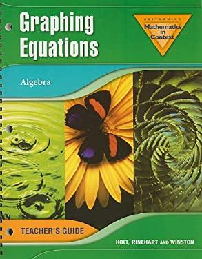 Graphing Equations: Algebra