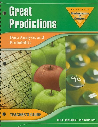 Great Predictions: Data Analysis and Probability