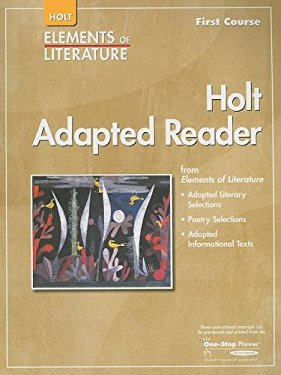Holt Adapted Reader, First Course