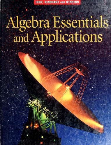 Holt Algebra Essentials & Applications