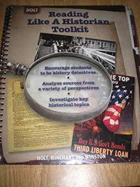Holt American Anthem: Reading Like a Historian Toolkit for American History Grades 6-8